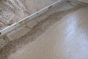 Цементно песчаная стяжка